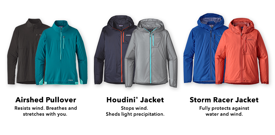 Shop Trail Running Jackets