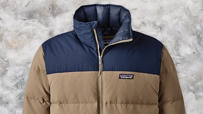 Shop Patagonia recycled down products