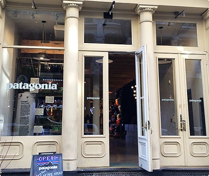 Patagonia New York SoHo