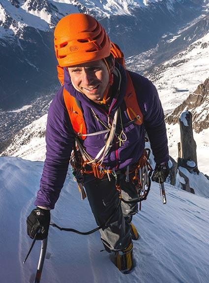 Patagonia Climbing Ambassador Colin Haley