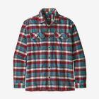 M's Long-Sleeved Fjord Flannel Shirt, Observer: Tasmanian Teal (OBTT)