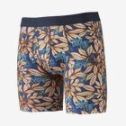 "M's Essential Boxer Briefs - 6"" - Hevea Leaves: Superior Blue (HLSB)"