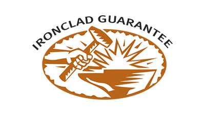 Our Ironclad Guarantee