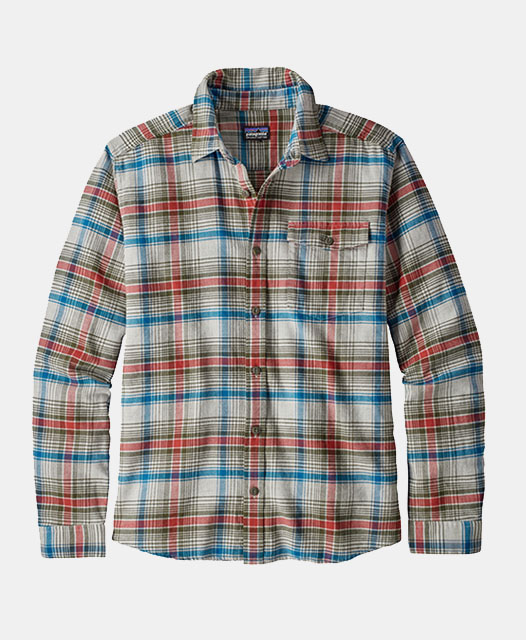 M's Long-Sleeved Lightweight Fjord Flannel Shirt