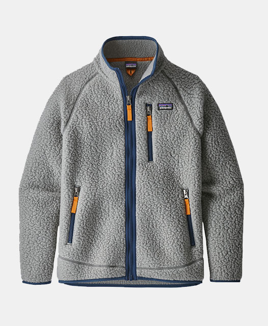 Boys' Retro Pile Jacket